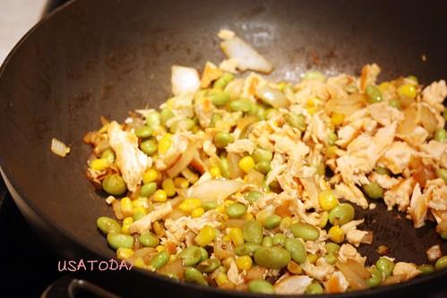 鮭魚炒飯 Salmon Fried Rice 8