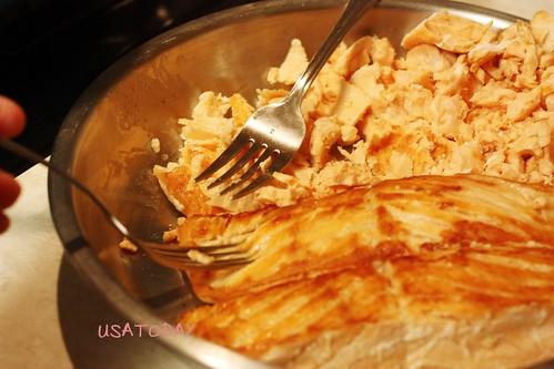 鮭魚炒飯 Salmon Fried Rice 5