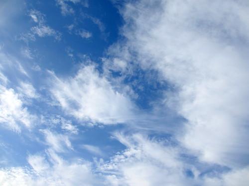 En las nubes by treboada