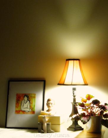 daydream I, lamp light