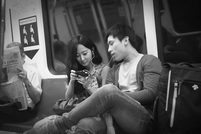 After Work Session ~ Travellers on train