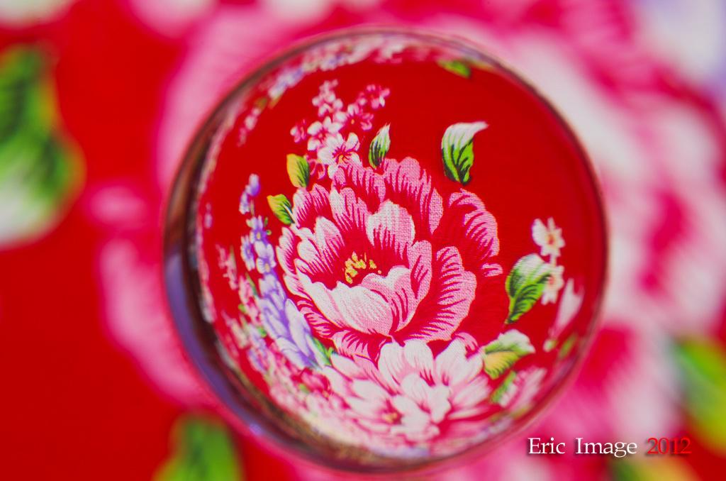 彩色彈珠+花海
