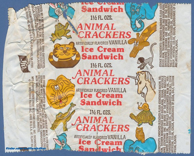 Animal Crackers Ice Cream Sandwich - 1984