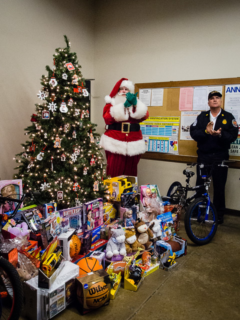 Toys for Tots and Santa