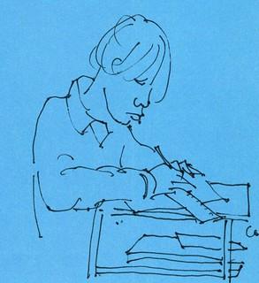 Examen de dibujo.