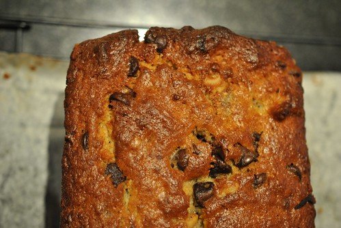 Spiked Chocolate Banana Bread
