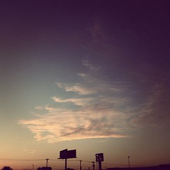#sunset #billboard #clouds #warm