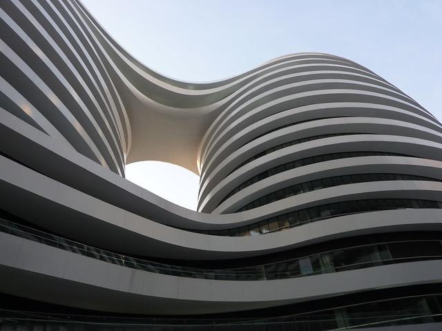 Zaha Hadid: Galaxy Soho, Beijing