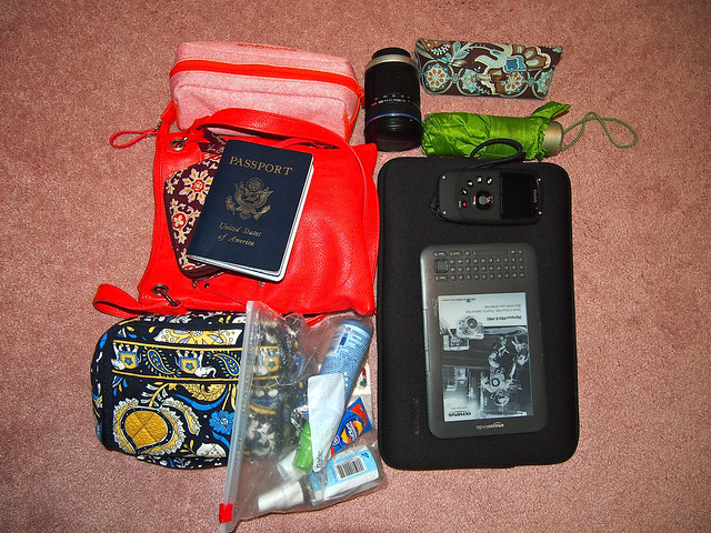 Scotland/Belize packing