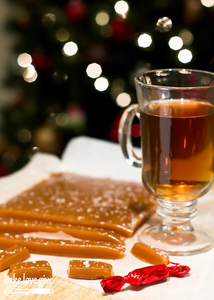 Apple Cider Caramels