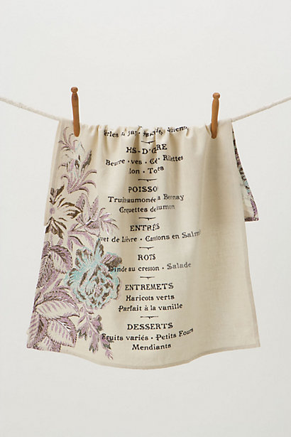 Sunday Supper Dishtowel