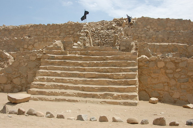 Restored Pyramid of Caral
