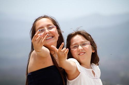 sobrinas felices