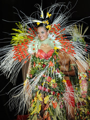 Poster Miss Tahiti 2009 - enhanced