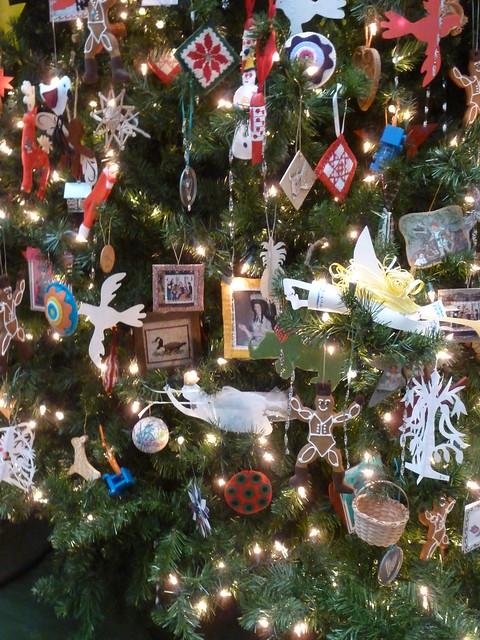 Abby Aldrich Rockefeller Folk Art Museum Christmas tree