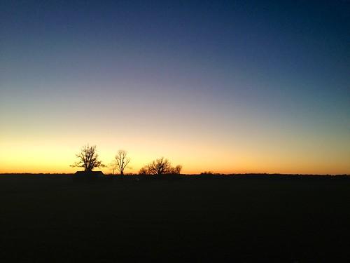 trees sunset sky usa holiday america landscape kentucky americadecember2012