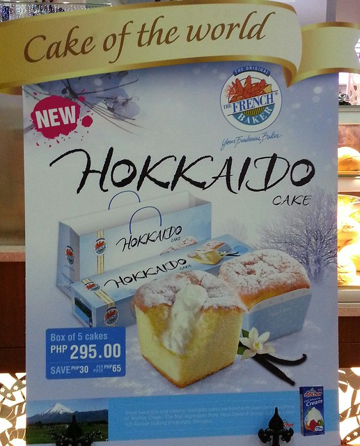 Hokkaido Cake | The French Baker at SM Lanang Premier in Davao