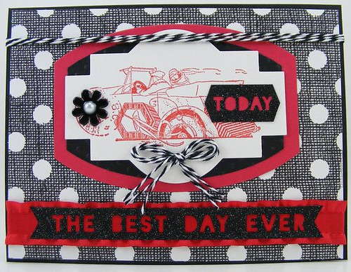 Hampton Art Best Day Ever Card