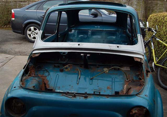 1969 fiat 500f restoration resolution rh oldclassiccar co uk Fiat 500 Sport Fiat 500 Abarth