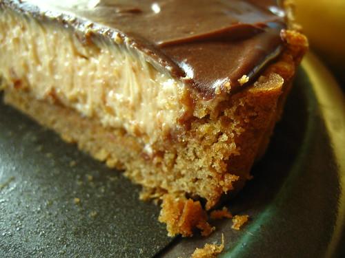 Peanut Butter Mousse Tart