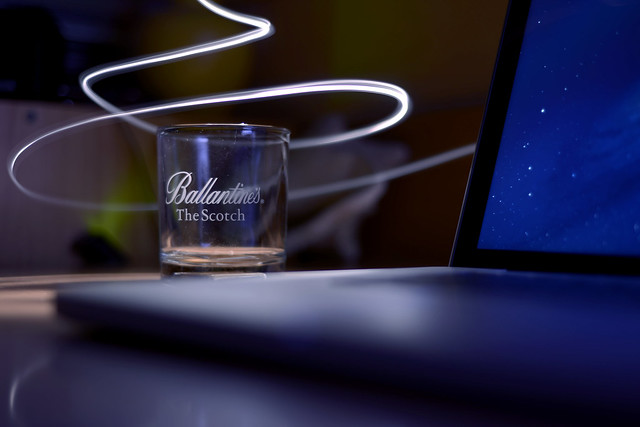 Ballantine's Glass