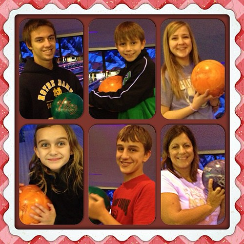 Traditional bowling on New Years!