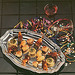 Unique and elegant to compliment your other party foods - this attractive assortment of hors d'oeuvres will make any party as special as a catered affair. Offerings include beef frank-n-blankets, seafood stuffed mushrooms, pork brochettes and florentine mini quiche. Ask about other assortments.