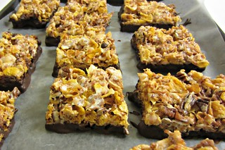 Coconut Pecan Cereal Bars