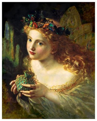 003-La cara justa de la mujer-Sophie Gengembre Anderson- via Wikimedia