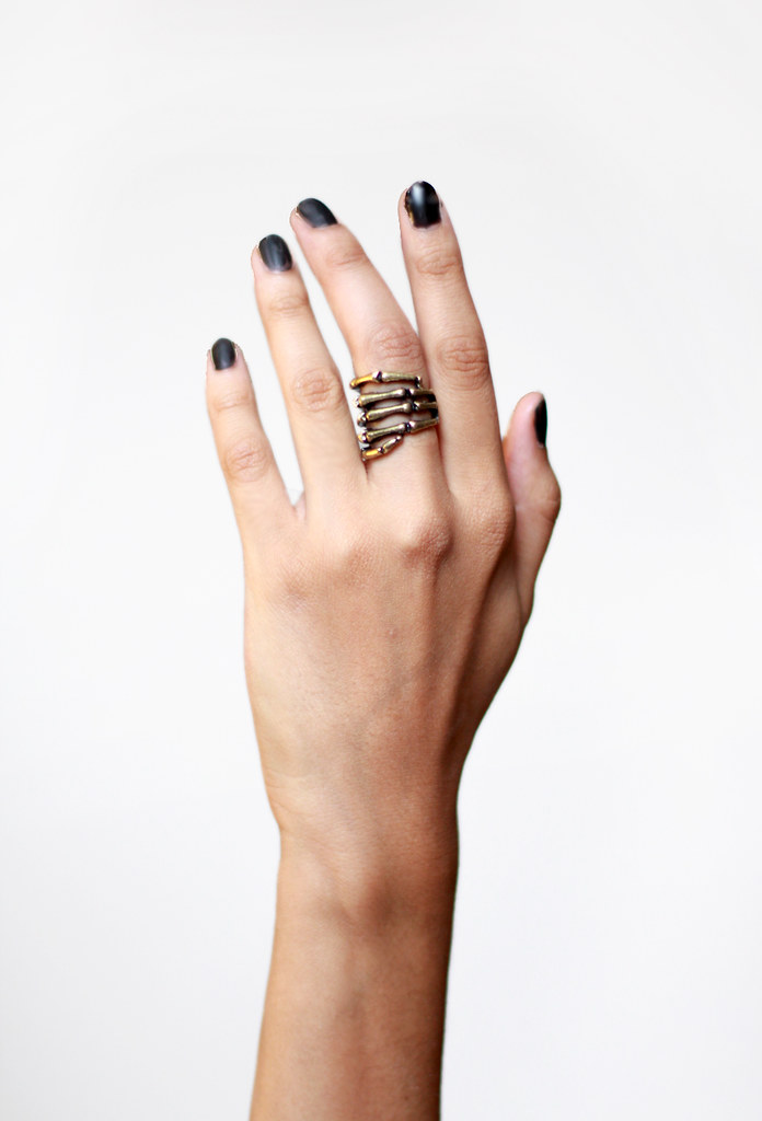 Peacebone Skeleton Ring by Tarte Vintage at shoptarte.com