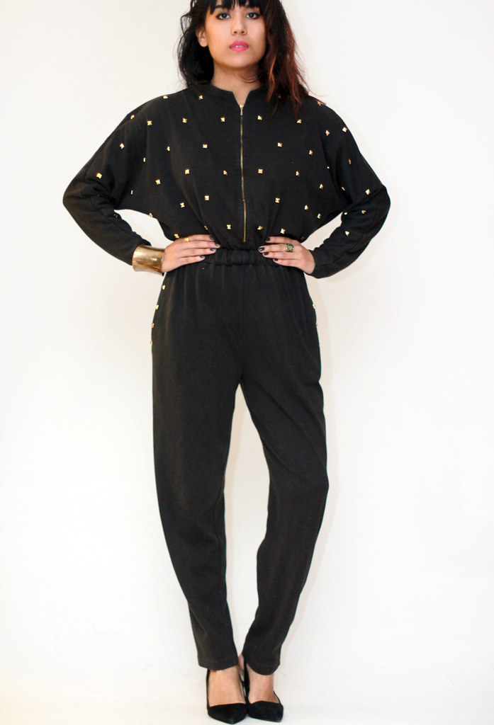 vintage jumpsuit playsuit studded by Tarte Vintage at shoptarte.com