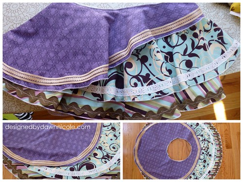 Shabby Chic Circle Skirt