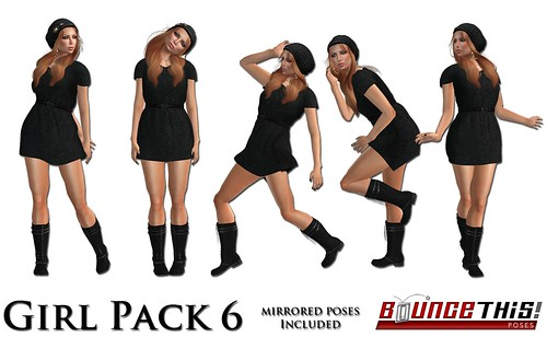 Bounce This Poses - Girl Pack 6