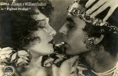 Greta Nissen and William Collier in The Wanderer (1925)