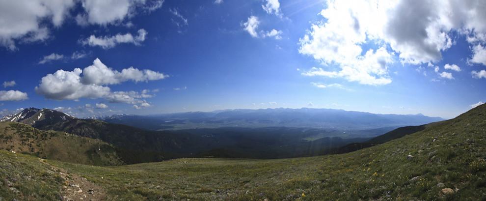 Mt Elbert Pano