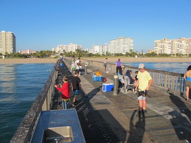 Atlantic blvd fishing pier pompano beach fl flickr for Pompano fishing pier