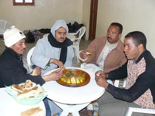 Los bereberes con los que compartí un delicioso Tajín