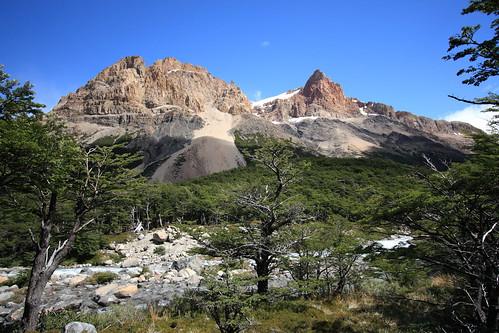 Laguna del Diablo and Glaciar Cagliero - Patagonia, Argentina
