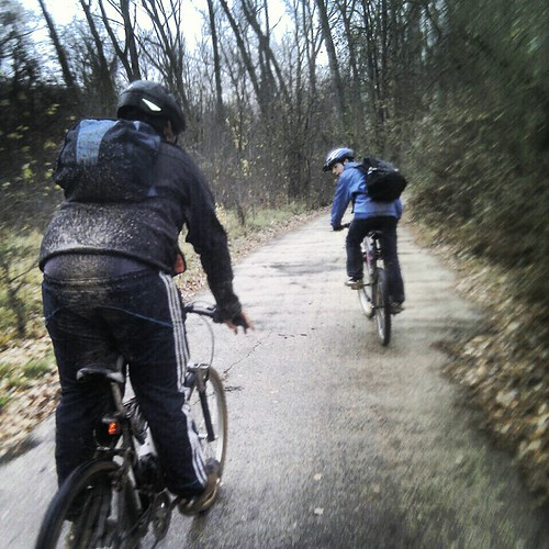 Pioneros en bicicleta (5)