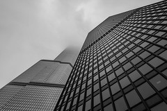 Looking up the IBM Building and Trump Tower