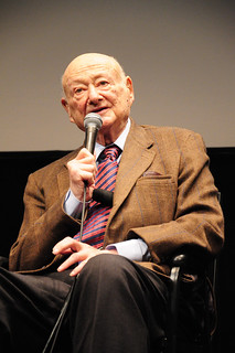 Former NYC Mayor Ed Koch at the 2013 New York Jewish Film Festival