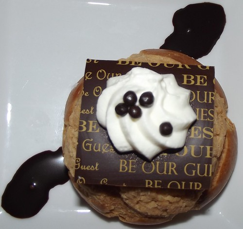 Cream Puff Dessert at Be Our Guest Restaurant