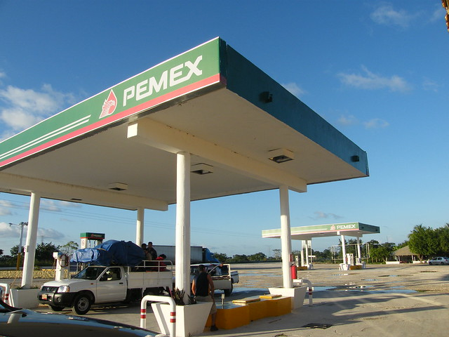 PEMEX Station