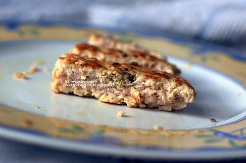 hamburger di tacchino light con zenzero e semi di finocchio
