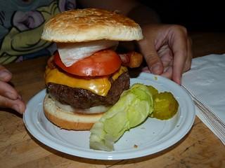 Hamburguesa de The Corner Bistro (Nueva York)