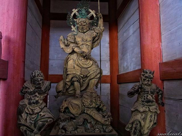 「東方天」 仁和寺 - 京都