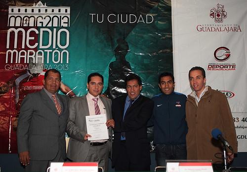 Medio Maraton Guadalajara 2013