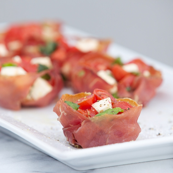 Crispy Proscuitto Cups