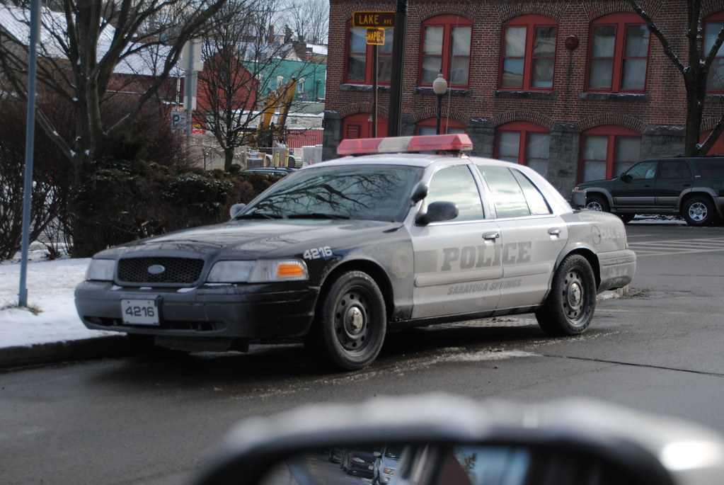 Saratoga Springs Police Department Cars