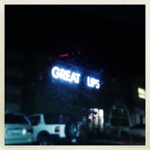 Great lips... #signage